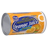 Kroger Frozen Juice Orange Plus Calcium