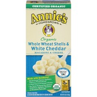 Annie's Homegrown Organic Whole Wheat Shells & White Cheddar Macaroni & Cheese