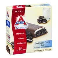 Atkins Cookies n' Creme Meal Bars