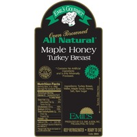 Emil's All Natural Maple Honey Oven Turkey