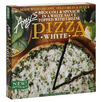 Amy's Broccoli & Spinach Frozen Pizza with 3 Cheeses
