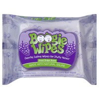 Boogie Wipes Saline Wipes, Great Grape Scent