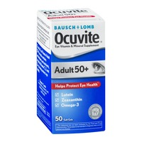 Bausch & Lomb Ocuvite  Adult 50+ Eye Vitamin & Mineral Supplement Soft Gels - 50 CT