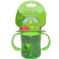 Green Sprouts by iPlay Non Spill Sippy Cup Green