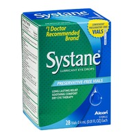 Systane Lubricant Eye Drops Preservative-Free Vials - 30 CT