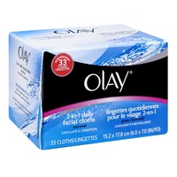 Olay Daily Facials Daily Clean 4-in-1 Water Activated Cleansing Cloths, 33 count  Female Skin Care