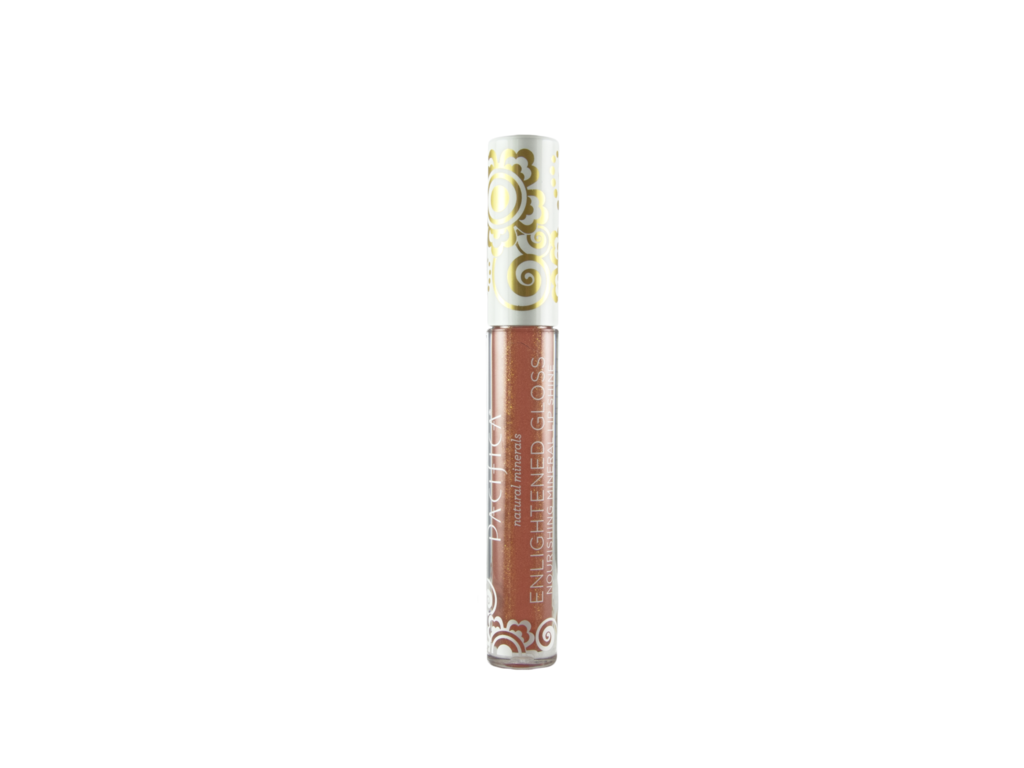 Pacifica Enlightened Gloss Nourishing Mineral Lip Shine with Coconut and Antioxidants