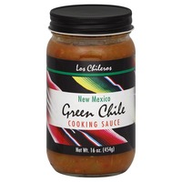 Los Chileros New Mexico Green Chile Cooking Sauce