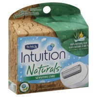 Schick Intuition Sensitive Care 100% Natural Aloe Refill Cartridges