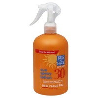Kiss My Face Sun Spray Lotion Spf 30