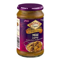 Patak's Original Simmer Sauce Mild Curry