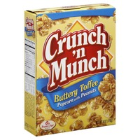 Crunch n Munch Buttery Toffee With Peanuts Popcorn