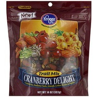 Kroger Cranberry Delight Trail Mix