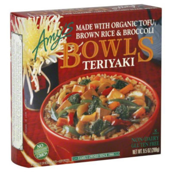 Amy's Teriyaki Meal Bowl