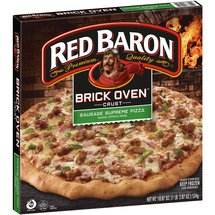 Red Baron Brick Oven Crust Sausage Supreme Pizza