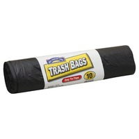 Hill Country Fare Easy Tie Flaps 30 Gallon Trash Bags