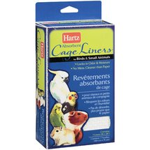 Hartz: Absorbent Cage Liners For Birds & Small Animals Liners