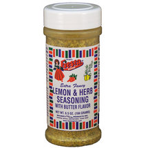 Fiesta Brand Extra Fancy Lemon & Herb Seasoning with Butter Flavor
