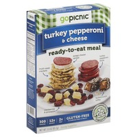 Gopicnic Turkey, Pepperoni & Cheese Ready to Eat Meal