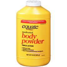 Equate Medicated Body Powder