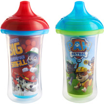Munchkin Paw Patrol Click Lock 9 oz Insulated Sippy Cup BPA-Free