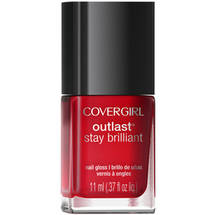 CoverGirl Outlast Stay Brilliant Nail Gloss Red dy and Willing 100