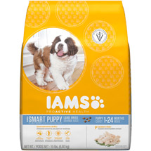 Iams ProActive Health Smart Puppy Large Breed Premium Puppy Food
