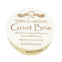 Woolwich Dairy Triple Creme Goat Brie