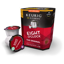 Keurig K-Carafe Packs Eight O'Clock Coffee The Original