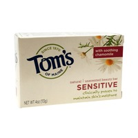 Tom's of Maine Natural Sensitive Unscented Beauty Bar Soap