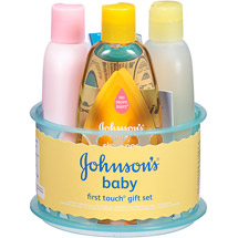 Johnson's Baby First Touch Gift Set