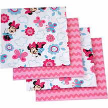 Disney Minnie Mouse Happy Day Flannel Blanket