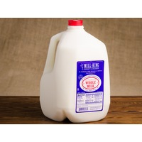 Mill King Creamery Milk, Whole, Gallon