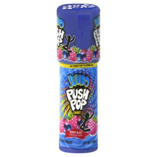 Push Pop Jumbo Push Pop Candy Strawberry