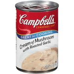 Campbell's Cream Of Mushroom w/Roasted Garlic Condensed Soup