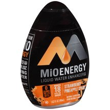 MiO Energy Strawberry Pineapple Spark Liquid Water Enhancer