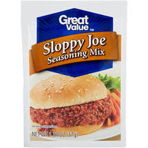 Great Value Sloppy Joe Seasoning Mix