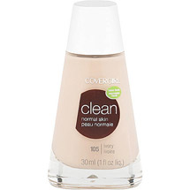 CoverGirl Clean Liquid Make Up Foundation IVORY 105