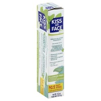 Kiss My Face Triple Action Flouride Free Toothpaste Cool Mint Gel
