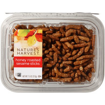 Nature's Harvest Honey Roasted Sesame Sticks