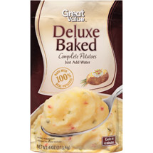 Great Value Deluxe Baked Complete Potatoes