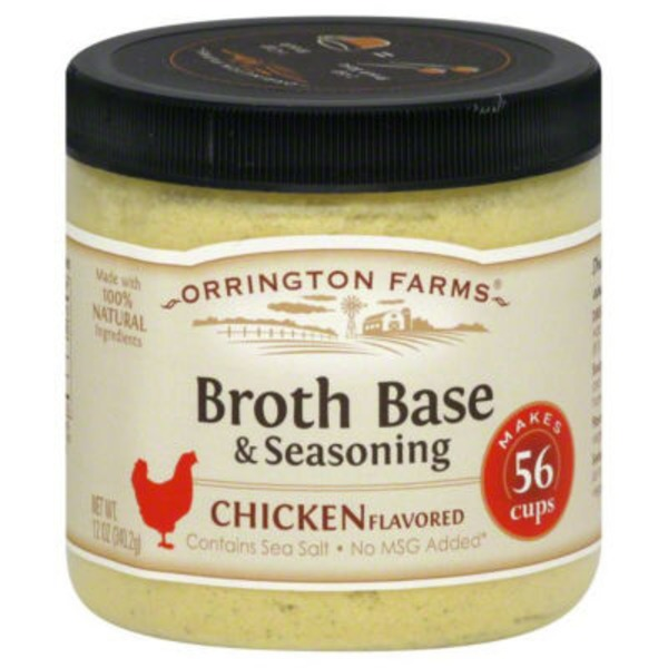Orrington Farms Chicken Flavored Broth Base, & Seasoning