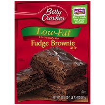 Betty Crocker Low-Fat Fudge Brownie Mix