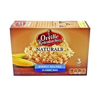 Orville Redenbacher's Gourmet Popping Corn Naturals Simply Salted Classic Bag - 3 CT