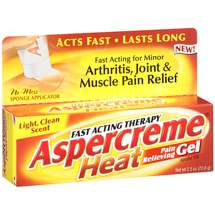 Aspercreme Heat Fast Acting Therapy Pain Relieving Gel