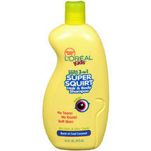 L'Oreal Kids Super Squirt 3-In-1 Hair & Body Shampoo Cool Coconut