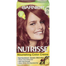 Garnier Nutrisse Haircolor 76 Rich Auburn Blonde Hot Tamale