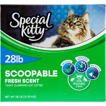 Special Kitty Multiple Cat Clumping Cat Litter