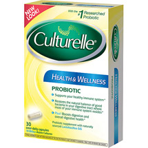 Culturelle Natural Health & Wellness Probiotic Supplement