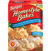 Banquet Homestyle Bakes Chicken Mashed Potatoes & Biscuits